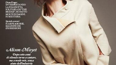 Alison Moyet a 2013.09.14-ei IO Donna címlapján