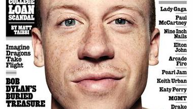 Macklemore a 2013.08.29-ei Rolling Stone címlapján