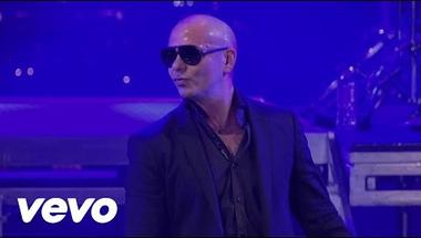 Pitbull - Echa Pa'lla (Manos Pa'rriba) (Live On Letterman)
