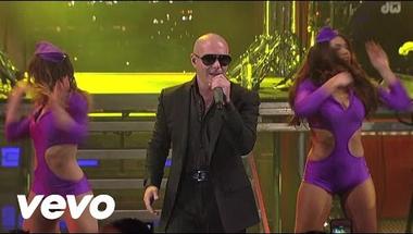 Pitbull - International Love (Live On Letterman)