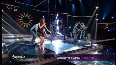 Group 'n' Swing - Retikül (A Dal 2014 első középdöntő)
