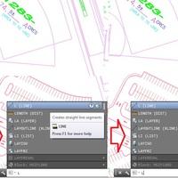 AutoCAD 2014: Új parancssori szövegkezelés