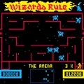 Wizard of Wor és Alone in the Dark 128×128 pixelen