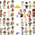 Az Indiana Jones filmek szereplői pár pixelben