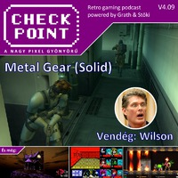 Checkpoint 4x09: A Metal Gear (Solid) sorozat