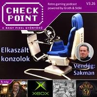 Checkpoint 3x26: Megjelenés előtt elkaszált konzolok