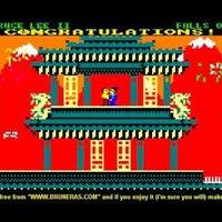 Bruce Lee II: a C64-játék pc-s folytatásából készült C64-játék