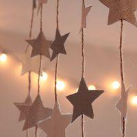 Csillagok papírból: mire jó a kukoricapelyhes doboz + három másik csillagos dekortipp