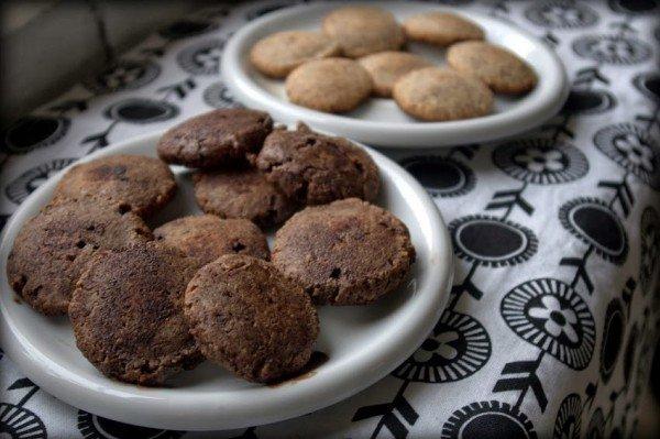 egyszerű mandulás keksz 4 illetve 6 alapanyagból