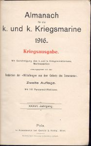 Marine-Almanach belső borító
