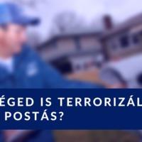 Téged is terrorizál a postás?