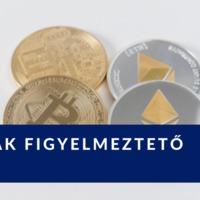 Bitcoint vettem és vannak figyelmeztető jelek...