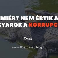 Miért nem érti a magyar a korrupciót?