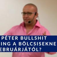 Szabó Péter bullshit coaching a bölcsiseknek 2018 februárjától?