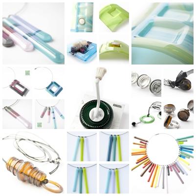 Kinema Design - újrahasznosított és fusing design ékszerek, lakberendezési tárgyak