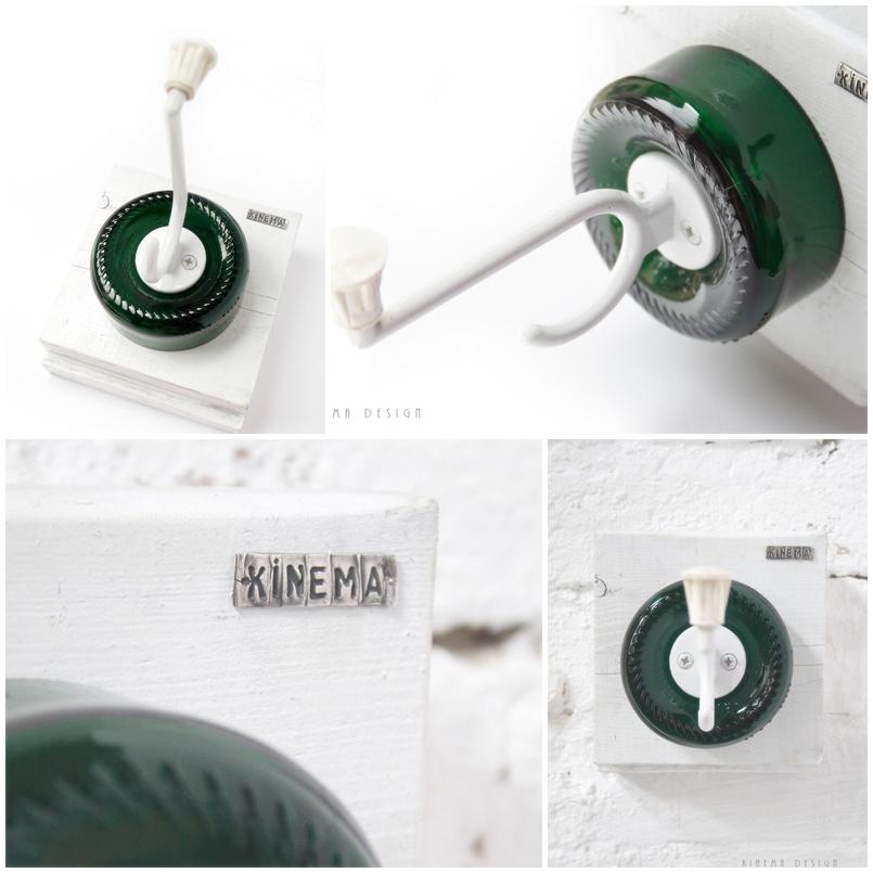 Kinema Design -újrahasznosított fogasok