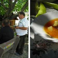 Lajosék krumplilevese Villányból