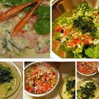 Saláta Haddad George-tól egy igazi jordániai gezemice saláta