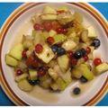 Francia gyümölcssaláta