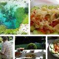 Albán párolt káposzta saláta