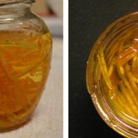 Narancsos méz készítése avagy méz narancs csíkokkal gasztroajándékba