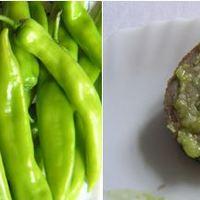 Zöld paprikakrémek főzve vagy sütve és csípősen
