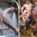 Csirkedarabok savanyú káposzta ágyon sütve