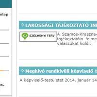 Itt a választókerületi választási bizottságok honlapjainak listája
