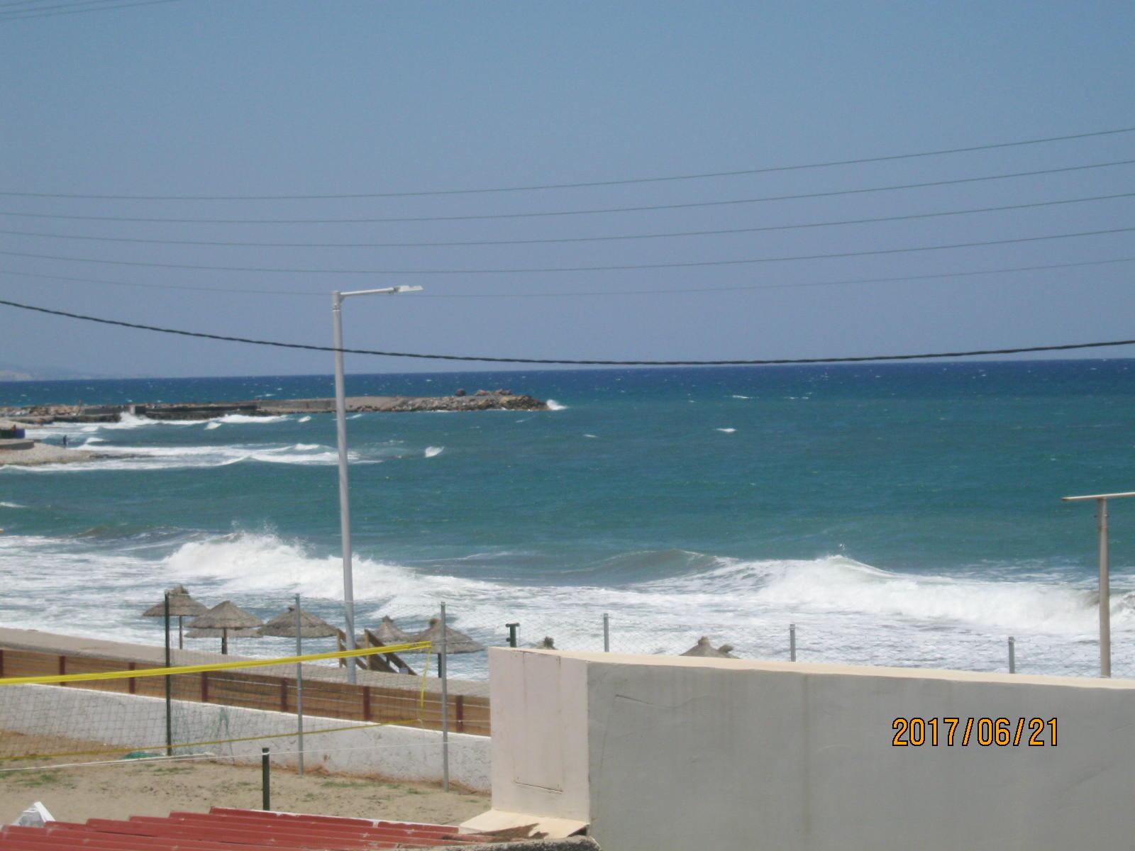És az imádott tenger, az erkélyről nézve.<br />Somának a tenger zúgása volt az altatója ;)
