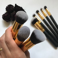 Ki lehet fogni olcsón jó minőségű sminkecset készletet? - Jessup Kabuki teszt