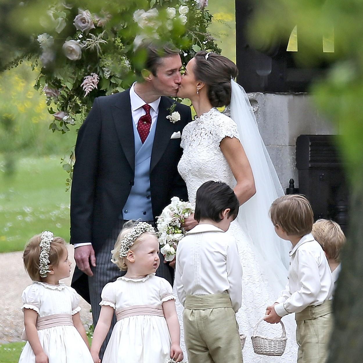 Álomszép menyasszony volt Pippa Middleton!