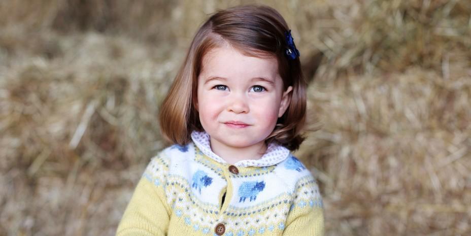 Új fotókon a tündéri Charlotte hercegnő!