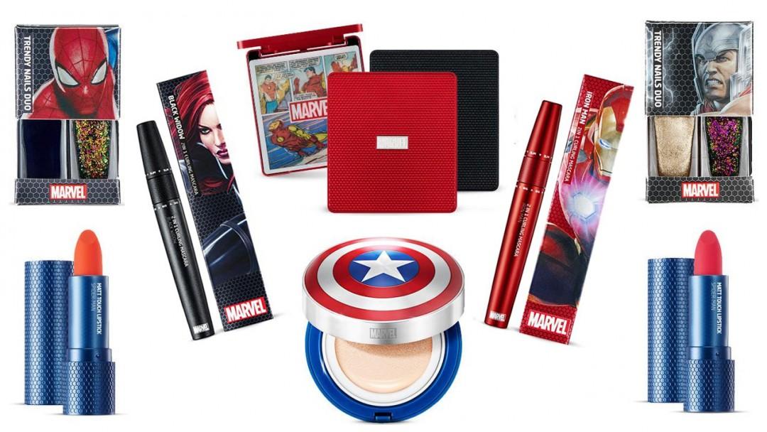 Szuperhősök a neszesszeredben! - Sminkkollekcióval rukkolt elő a Marvel!