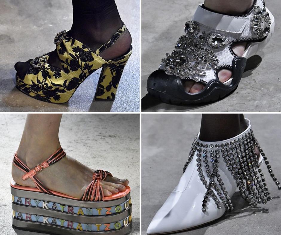 Ezek a londoni divathét legérdekesebb cipői!