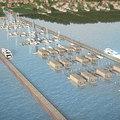 Akkora kikötő épül a Balatonon, amekkorát még nem láttál
