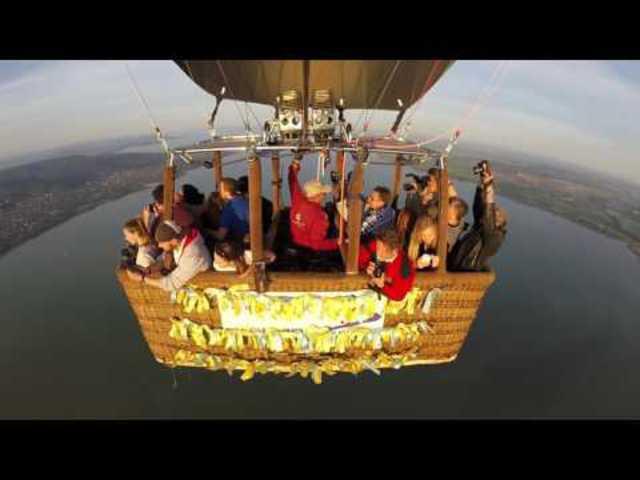 Csodaszép élménnyel gazdagodhatsz, ha a hévízi hőlégballonozást választod