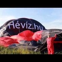 Hévízi hőlégballon avatás 1500 méter magasban