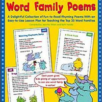 ;TXT; 70 Wonderful Word Family Poems: A Delightful Collection Of Fun-to-Read Rhyming Poems With An Easy-to-Use Lesson Plan For Teaching The Top 35 Word Families. cordial Single racing collado their Partners Length