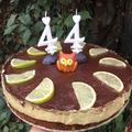 Mai gasztroblog: szülinapi paleo lime torta
