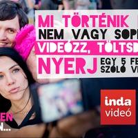 Bármit csinálsz hétvégén, videózd le, de csak akkor, ha szeretnél egy Volt-Sound-Sziget-Strand-b.my.Lake VIP passt