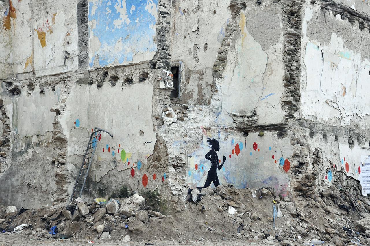 Szó sincs háborús övezetről, de átépítik, bontják, újítják a medinát, azaz az óvárost.