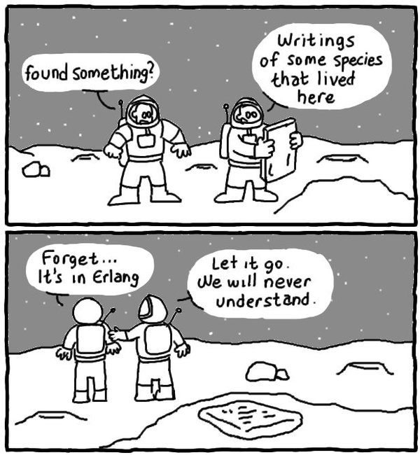 Programozós vicc, képregény
