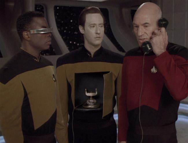 Star Trek: Mr. Data, Piccard és La Forge