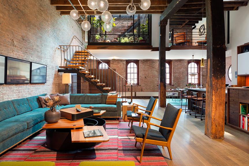Egy igazi loft New Yorkban