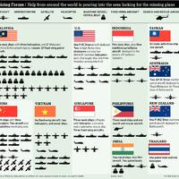 Nemzetközi összefogással keresik a maláj gépet - kik és hányan?