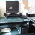 Üres íróasztal - tiszta képernyő