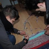 Elkészült az első szőnyeg a Fonyóban