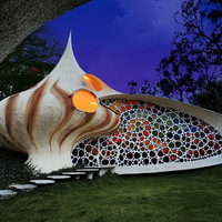 Csodálatos mexikói kagylóház
