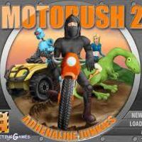 Ingyen online játék: Moto Rush 2.