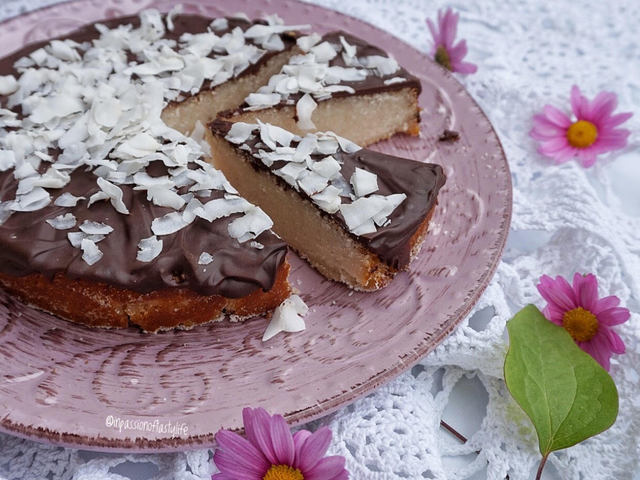 Csokis tejbegríz torta mentesen